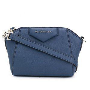Givenchy Navy Nano Antigona Bag